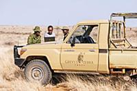 Grevy's Zebra (Equus grevyi) conservationist, Ann-