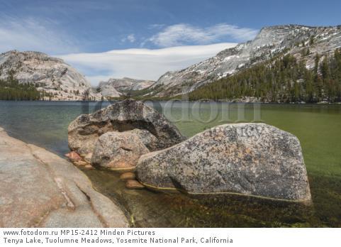 Tenya Lake, Tuolumne Meadows, Yosemite National Park, California