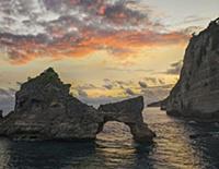 Rock arch, Atuh Beach, Nusa Penida, Bali, Indonesi