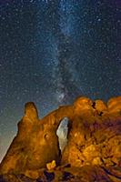Turret Arch and the  Milky Way, Arches National Pa