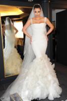 Свадебное платье ким кардашьян от