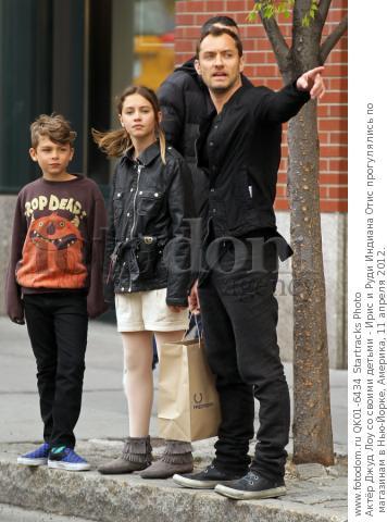 Jude law kids 2012