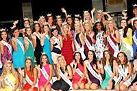 Участницы конкурса «Мисс Америка-2016»