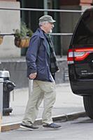 Роберт Де Ниро в Нью-Йорке