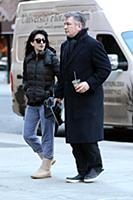 Алек и Хилария Болдуин в Нью-Йорке