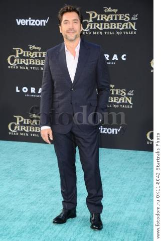 -Hollywood, CA - 05/18/2017 Premiere of Pirates of the Caribbean: Dead Men Tell no Tales-PICTURED: Javier Bardem-PHOTO by: Sara De Boer/startraksphoto.com-SDL_7128Startraks PhotoNew York, NY For licensing please call 212-414-9464 or email sales@startraksphoto.com