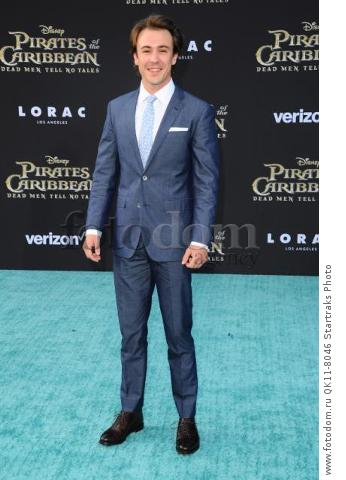 -Hollywood, CA - 05/18/2017 Premiere of Pirates of the Caribbean: Dead Men Tell no Tales-PICTURED: Ben O'Toole-PHOTO by: Sara De Boer/startraksphoto.com-SDL_7160Startraks PhotoNew York, NY For licensing please call 212-414-9464 or email sales@startraksphoto.com