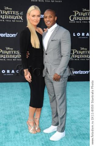-Hollywood, CA - 05/18/2017 Premiere of Pirates of the Caribbean: Dead Men Tell no Tales-PICTURED: Lindsey Vonn, Kenan Smith-PHOTO by: Sara De Boer/startraksphoto.com-SDL_7375Startraks PhotoNew York, NY For licensing please call 212-414-9464 or email sales@startraksphoto.com