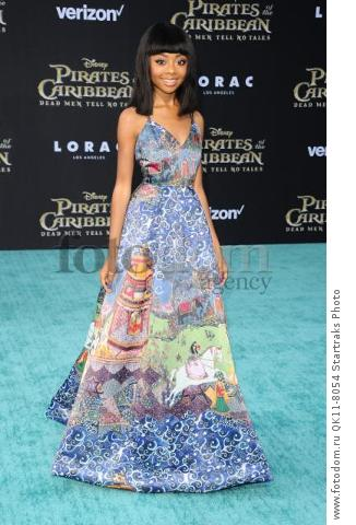 -Hollywood, CA - 05/18/2017 Premiere of Pirates of the Caribbean: Dead Men Tell no Tales-PICTURED: Skai Jackson-PHOTO by: Sara De Boer/startraksphoto.com-SDL_7452Startraks PhotoNew York, NY For licensing please call 212-414-9464 or email sales@startraksphoto.com