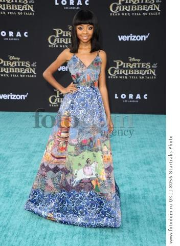 -Hollywood, CA - 05/18/2017 Premiere of Pirates of the Caribbean: Dead Men Tell no Tales-PICTURED: Skai Jackson-PHOTO by: Sara De Boer/startraksphoto.com-SDL_7462Startraks PhotoNew York, NY For licensing please call 212-414-9464 or email sales@startraksphoto.com