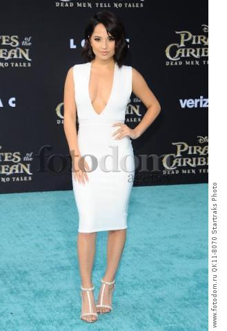 -Hollywood, CA - 05/18/2017 Premiere of Pirates of the Caribbean: Dead Men Tell no Tales-PICTURED: Becky G-PHOTO by: Sara De Boer/startraksphoto.com-SDL_7430Startraks PhotoNew York, NY For licensing please call 212-414-9464 or email sales@startraksphoto.com