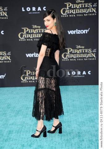 -Hollywood, CA - 05/18/2017 Premiere of Pirates of the Caribbean: Dead Men Tell no Tales-PICTURED: Sofia Carson-PHOTO by: Sara De Boer/startraksphoto.com-SDL_7680Startraks PhotoNew York, NY For licensing please call 212-414-9464 or email sales@startraksphoto.com