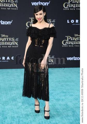 -Hollywood, CA - 05/18/2017 Premiere of Pirates of the Caribbean: Dead Men Tell no Tales-PICTURED: Sofia Carson-PHOTO by: Sara De Boer/startraksphoto.com-SDL_7672Startraks PhotoNew York, NY For licensing please call 212-414-9464 or email sales@startraksphoto.com