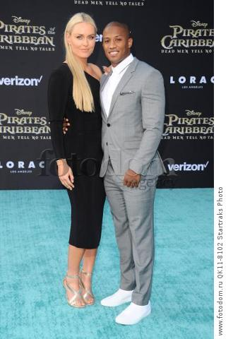 -Hollywood, CA - 05/18/2017 Premiere of Pirates of the Caribbean: Dead Men Tell no Tales-PICTURED: Lindsey Vonn, Kenan Smith-PHOTO by: Sara De Boer/startraksphoto.com-SDL_7372Startraks PhotoNew York, NY For licensing please call 212-414-9464 or email sales@startraksphoto.com
