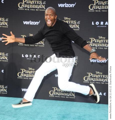 -Hollywood, CA - 05/18/2017 Premiere of Pirates of the Caribbean: Dead Men Tell no Tales-PICTURED: Terry Crews-PHOTO by: Sara De Boer/startraksphoto.com-SDL_7325Startraks PhotoNew York, NY For licensing please call 212-414-9464 or email sales@startraksphoto.com