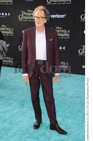 -Hollywood, CA - 05/18/2017 Premiere of Pirates of the Caribbean: Dead Men Tell no Tales-PICTURED: Geoffrey Rush-PHOTO by: Sara De Boer/startraksphoto.com-SDL_6978Startraks PhotoNew York, NY For licensing please call 212-414-9464 or email sales@startraksphoto.com