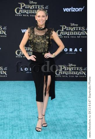 -Hollywood, CA - 05/18/2017 Premiere of Pirates of the Caribbean: Dead Men Tell no Tales-PICTURED: Kym Herjavec-PHOTO by: Sara De Boer/startraksphoto.com-SDL_7208Startraks PhotoNew York, NY For licensing please call 212-414-9464 or email sales@startraksphoto.com