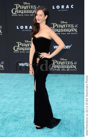 -Hollywood, CA - 05/18/2017 Premiere of Pirates of the Caribbean: Dead Men Tell no Tales-PICTURED: Kaya Scodelario-PHOTO by: Sara De Boer/startraksphoto.com-SDL_7187Startraks PhotoNew York, NY For licensing please call 212-414-9464 or email sales@startraksphoto.com