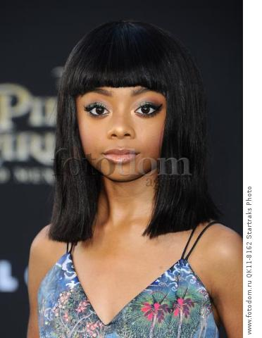 -Hollywood, CA - 05/18/2017 Premiere of Pirates of the Caribbean: Dead Men Tell no Tales-PICTURED: Skai Jackson-PHOTO by: Sara De Boer/startraksphoto.com-SDL_7479Startraks PhotoNew York, NY For licensing please call 212-414-9464 or email sales@startraksphoto.com