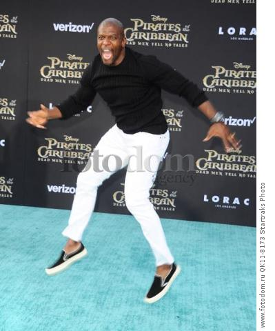 -Hollywood, CA - 05/18/2017 Premiere of Pirates of the Caribbean: Dead Men Tell no Tales-PICTURED: Terry Crews-PHOTO by: Sara De Boer/startraksphoto.com-SDL_7328Startraks PhotoNew York, NY For licensing please call 212-414-9464 or email sales@startraksphoto.com