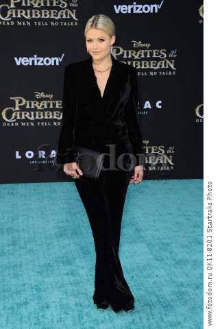 -Hollywood, CA - 05/18/2017 Premiere of Pirates of the Caribbean: Dead Men Tell no Tales-PICTURED: Witney Carson-PHOTO by: Sara De Boer/startraksphoto.com-SDL_7501Startraks PhotoNew York, NY For licensing please call 212-414-9464 or email sales@startraksphoto.com