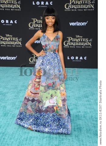 -Hollywood, CA - 05/18/2017 Premiere of Pirates of the Caribbean: Dead Men Tell no Tales-PICTURED: Skai Jackson-PHOTO by: Sara De Boer/startraksphoto.com-SDL_7461Startraks PhotoNew York, NY For licensing please call 212-414-9464 or email sales@startraksphoto.com