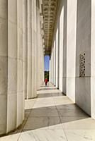 USA, Washington DC, National Mall, Lincoln Memoria