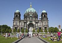 Germany, Berlin, Mitte, Museum Island, Cathedral w