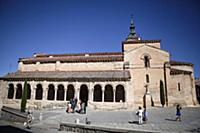 Spain, Castille-Leon, Segovia, Church of San Milla