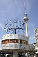Germany, Berlin, Mitte, Alexanderplatz, the World