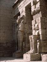 The mortuary temple of Ramesses III at Medinet Hab