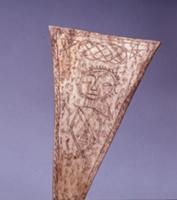 Bone amulet, inscribed by a Batak shaman with a sp