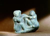 Fertility charm (symplegma). Lovemaking was a popu