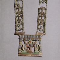 A pendant from the tomb of Tutankhamun. Country of