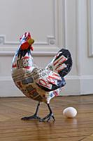 Model hen with egg (Easter)