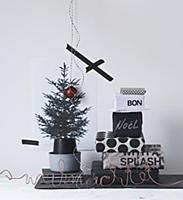Черно-белый Новый год