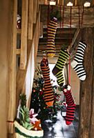 Stockings filled with presents