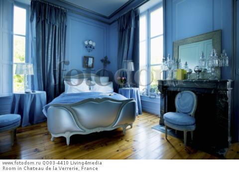 Room in Chвteau de la Verrerie, France
