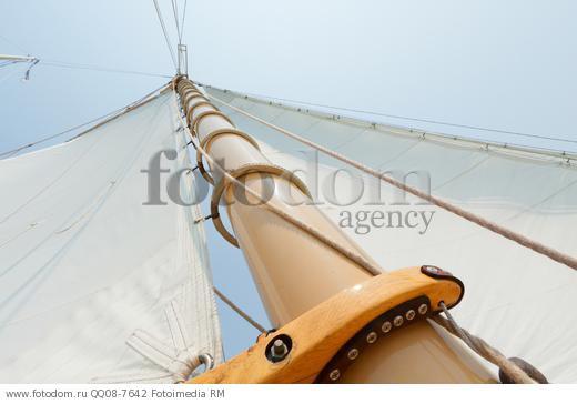 веревка для подъема снастей такелажа для причаливания