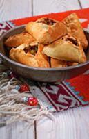 Пирожки со свининой и картофелем