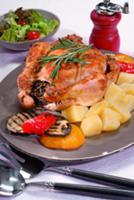 Цыпленок в горчично-укропном соусе