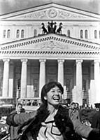 Кадры из фильмов «Покровские ворота», «Москва слезам не верит», «Москва - любовь моя»