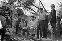 Съемки фильма «Бабье царство»