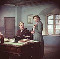 Ольга Аросева. Кадр из фильма «Безумный день».