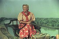 Марина Ладынина. Кадр из фильма «Кубанские казаки»