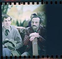 Кадр из фильма «Гараж», (1979). На фото: Cемен Фар