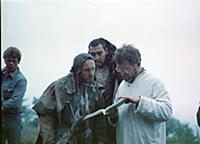 Съемки фильма «Сказка странствий», (1983).