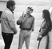 Кадры со съемок фильма «Солярис», 1972