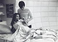 Съемки фильма «Солярис». На фото: Наталья Бондарчу