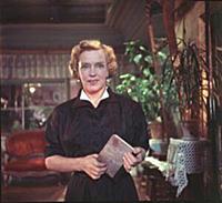 Кадр из фильма «Испытание верности», (1954). На фо